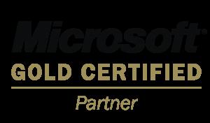 Logo microsoft gold certified partner