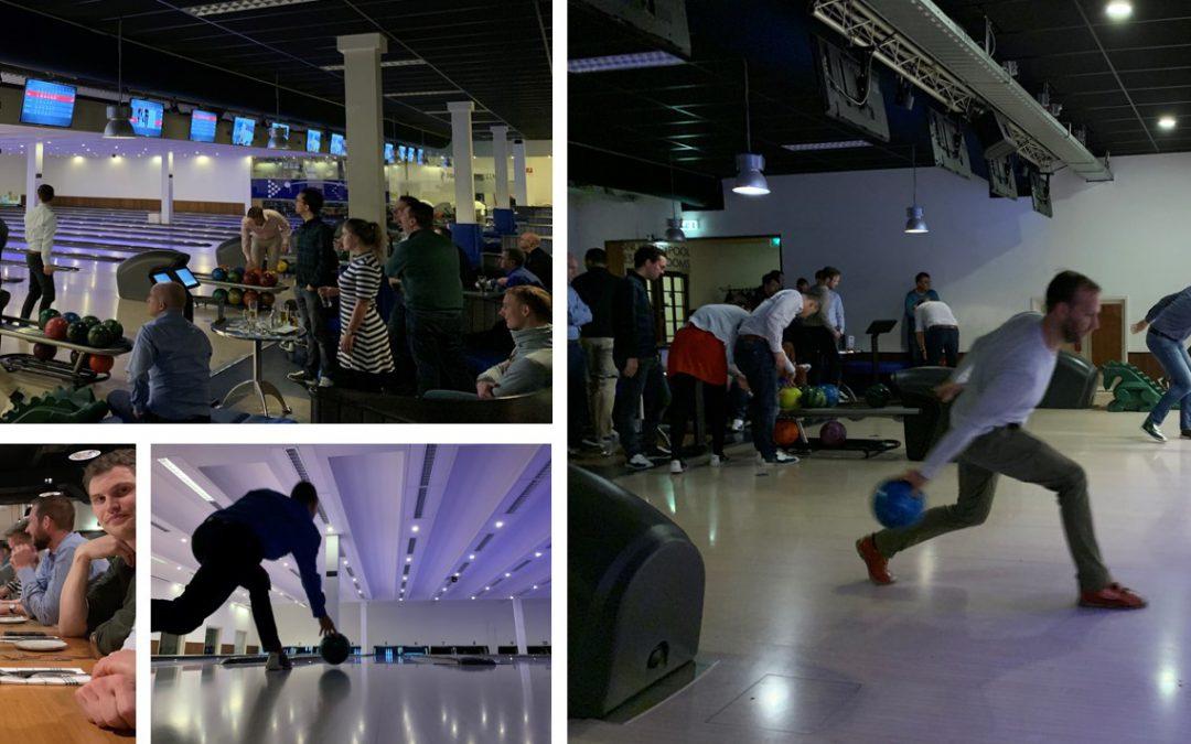 Teammeeting februari: Bowlen