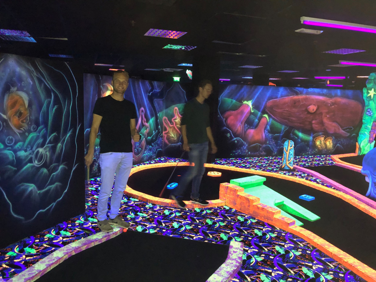 Teammeeting glowgolf