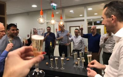 Eerste teammeeting van dit jaar over Riviq strategie 2020