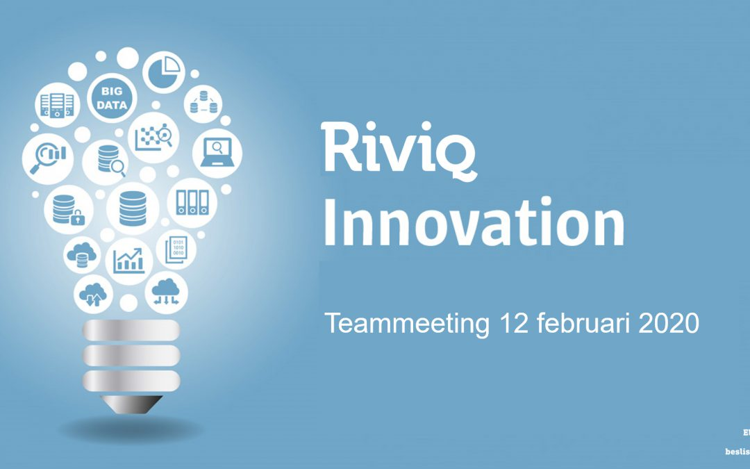 Riviq innovatie teammeeting feb