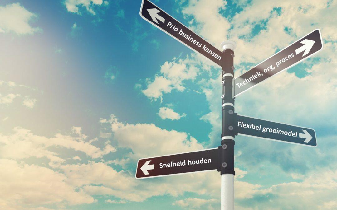 Het juiste pad kiezen en weten waaraan je begint: 4 uitgangspunten voor een praktische roadmap