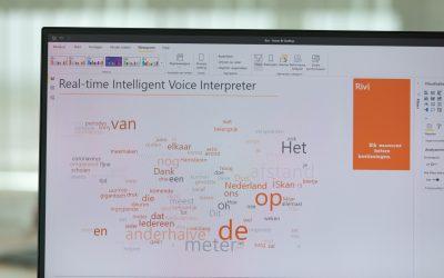 Proefopstelling Realtime Intelligence Voice Interpreter